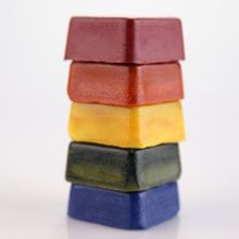 Edible Crayons and other safe art supplies