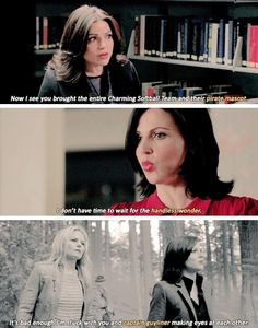 Awesome Regina/Regina and Emma (Lana and Jen) Once S3