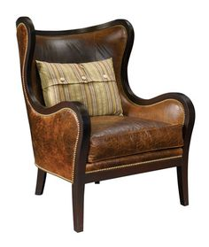 Love this leather chair!
