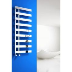 The Reina Florina Towel Rail will make a bold statement in any bathroom. Reina Florina from Plumbhouse is a unique designer Towel Rail. This range ensures optimum heat output and heat efficiency, proving the Reina Florina is excellent value for money.The Reina Florina Designer Towel Rail will enhance any bathroom decor in order to brighten your bathroom, due to its sleek and stylish design, which is suitable for any home. Electric Towel Rail, Electric Radiators, Designer Radiator, Heated Towel Rail, Central Heating, Shower Enclosure, Plumbing, Chrome, Steel