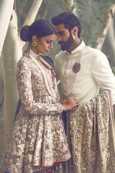 "lipstick-bullet: "" ""The Jasmine Court"" by Elan featuring Hasnain Lehri and Rabia… Indian Wedding Outfits, Wedding Attire, Indian Outfits, Indian Weddings, Wedding Wear, Pakistani Bridal, Pakistani Dresses, Indian Dresses, Pakistani Models"