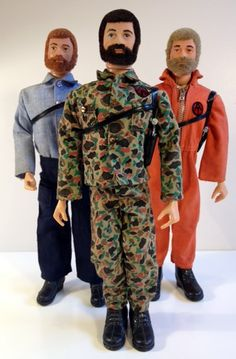 "The Adventure Team!  I have a tough assignment for you!  Originally released in 1970, these figures replaced the ""Adventures Of"" series of GI Joe, marking an end to the Painted Hair era of Joe."