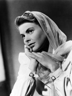 Casablanca, Ingrid Bergman, 1942