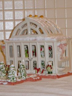 The First, the Best Lighted House Collection - The Greenhouse