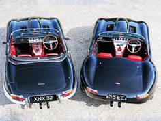 Jaguar E Type - Eagle E Type , the same only different .