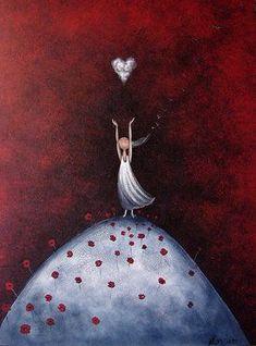 amanda-cass-neue-ideen/ - The world's most private search engine Tom Bagshaw, Prophetic Art, Angel Art, Heart Art, Whimsical Art, Love Art, Fantasy Art, Amanda, Illustrator