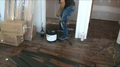 "120 sq yds of 3/8"" rubber flooring with 2400 sq ft of Mannington Adura V..."