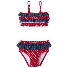 My first collection of target swimwear is starting to hit Target.com! Very exciting! #2014TargetSwim    Circo® Infant Toddler Girls' Ruffled 2-Piece Swimsuit