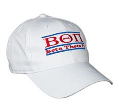 Beta Theta Pi Greek Letter Fraternity Snapback Bar Hats by The Game