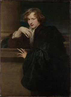 Self-Portrait Anthony van Dyck (Flemish, Antwerp 1599–1641 London) Date: possibly 1620–21 Medium: Oil on canvas Dimensions: 47 1/8 x 34 5/8 in. (119.7 x 87.9 cm) Classification: Paintings Credit Line: The Jules Bache Collection, 1949 Accession Number: 49.7.25