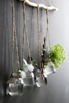 10 ways to decorate with branches — kate young : 10 ways to decorate with branches and give your home a rustic and boho vibe. 10 ways to decorate with branches and give your home a rustic and boho vibe on a budget Decoration Branches, Tree Branch Decor, Tree Branches, Decorating With Branches, Branch Art, Handmade Home Decor, Diy Home Decor, Boho Dekor, Decoration Plante