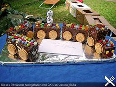 Schneller Zug - Kuchen