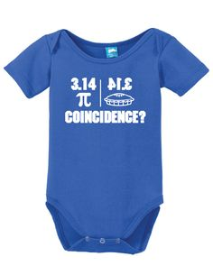 Pi Coincidence Onesie