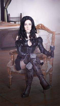 Yennefer from The Witcher 3 Cosplay http://geekxgirls.com/article.php?ID=8441