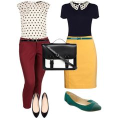 Back to school teacher outfits!