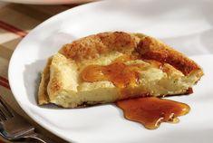 Γαλατόπιτα από την Αργυρώ Μπαρμπαρίγου | Εύκολη, παραδοσιακή γαλατόπιτα χωρίς φύλλο. Φτιάξτε την όλοι!