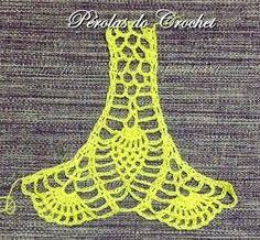 How to Crochet a Bodycon Dress/Top Crochet Beach Dress, Crochet Summer Tops, Crochet Shirt, Crochet Crop Top, Crochet Baby, Crochet Stitches Patterns, Crochet Designs, Diy Crafts Crochet, Crochet Leaves