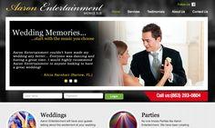 Mobile DJ Services - Custom Website with WordPress CMS.