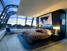 Love this room...from some London based architecture firm, RHE