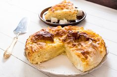 Learn how to make and prepare the recipe for Tembelopita Zagoriou, also known as Greek lazy pie from Zagori, Greece. Greek Meat Pie Recipe, Greek Recipes, Pie Recipes, Greek Meals, Greek Baklava, Turkish Baklava, Cyprus Food, Greek Cookies, Beef Recipes