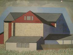 charles sheeler paintings | Charles Sheeler 'Thunder Shower' 1948, Carnegie Museum of Art ...
