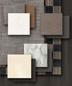 Material Board, Material Design, Interior Design Boards, Moodboard Interior Design, Mood And Tone, Design Palette, Paint Colors For Home, Concept Board, Colorful Interiors