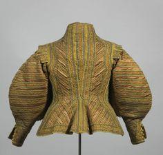 Als dieses Wams Mitte des 17. Jahrhunderts gefertigt wurde, folgte es in seiner Hinwendung zum französischen Stil der neuesten Mode. Später wurde es mehrfach umgearbeitet.