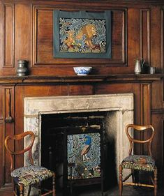 William Morris, The Forest, inspired needlepoint designs