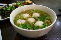 貢丸湯 - Taiwan traditional food Meat Ball Soup