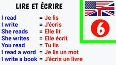 Basic French Words, French Phrases, French Lessons, Learn French, French Language, English Vocabulary, Writing A Book, Reading, Books