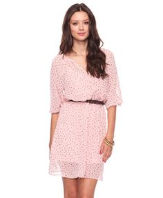 Spotted Print Dress  $19.80