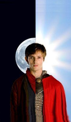 Merlin & Arthur cell phone background