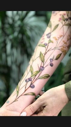 Garden Tattoos, Vine Tattoos, Leg Tattoos, Arm Band Tattoo, Body Art Tattoos, Sleeve Tattoos, Brown Ink Tattoos, Tatoos, Food Tattoos