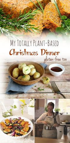 My totally plant-based Christmas. Also #glutenfree #dairyfree #vegan #wheatfree #allergyfree #cleaneating