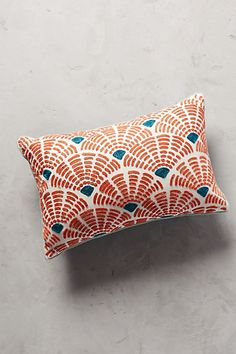 Soundwaves Pillow #anthropologie