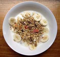 Muesli is a common breakfast dish in Liechtensteiner cuisine