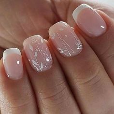 Einfache Sommer-Nagel-Kunst-Entwürfe 2018 Nail Art a nail art set Nail Art Designs, Bridal Nails Designs, Bridal Nail Art, Fingernail Designs, Wedding Nails Design, Nail Wedding, Wedding Manicure, Spring Nail Art, Spring Nails
