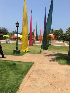 Carnival theme entrance @Goa