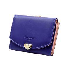 Lovely Women's Candy Color Leather Wallet