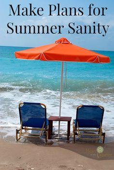 Make Plans for Summer Sanity