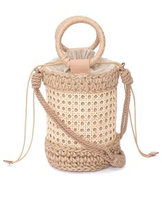 Art Bag, Craft Bags, Weaving Art, Macrame Patterns, Branded Bags, Diy Crochet, Indiana, Clutch Bag, Bucket Bag