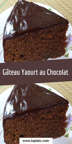 Chocolate Yogurt Cake, Chocolate Butter, Homemade Chocolate, Chocolate Desserts, Melting Chocolate, Gateau Cake, Yogurt Melts, Sweet Bakery, Pudding