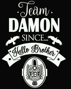 — The Vampire Diaries Team Damon or Stefan Serie The Vampire Diaries, Vampire Diaries Poster, Vampire Diaries Wallpaper, Vampire Diaries Quotes, Vampire Diaries Stefan, Vampire Diaries The Originals, Vampire Quotes, Damon Salvatore, Paul Wesley