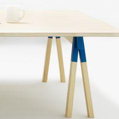 4ce8433392b1 Swedish designers TAF Arkitektkontor have designed a collection of  adjustable furniture called Trestle for Cibone in Tokyo