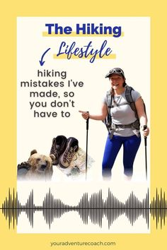 If you're new to hiking or backpacking, be sure to avoid these common hiking mistakes. Yes, I've made them all. Listen in to these hiking tips before your next hike or backpacking trip. Best Backpacking Food, Hiking Food, Hiking Tips, Outdoor Activities, Mistakes, Things To Come, Wellness, Outdoor Adventures, How To Plan