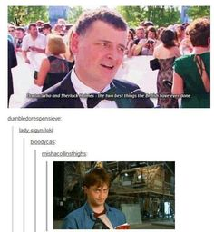 I'll agree with him, but I can't believe he didn't  mention Harry Potter.