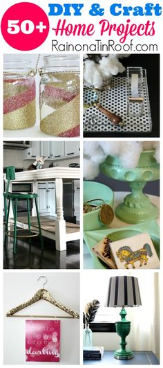 SO many awesome ideas - and most are really cheap! DIY & Crafts Project Gallery