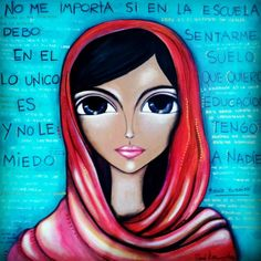 Romina Lerda Art @romilerdart - #malala