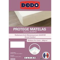 16.99 € ❤ #Linge de #Maison - #DODO Protège #Matelas QUARTZ 140x190cm Forme Housse ➡ https://ad.zanox.com/ppc/?28290640C84663587&ulp=[[http://www.cdiscount.com/maison/linge-maison/dodo-protege-matelas-quartz-140x190cm-forme-housse/f-11762011202-20216dh140190b.html?refer=zanoxpb&cid=affil&cm_mmc=zanoxpb-_-userid]]