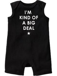 Graphic Muscle One-Pieces for Baby